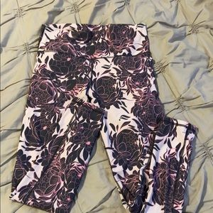 High Waisted Floral Fabletics Crop pant